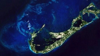 Satellitenaufnahme von Nasa und World Imagery