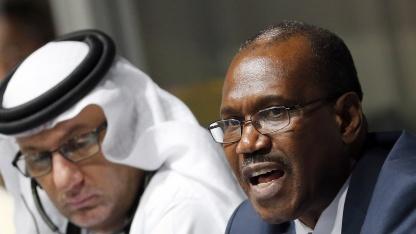 ITU-Generalsekretär Hamadoun Touré spricht auf der WCIT-12 in Dubai.