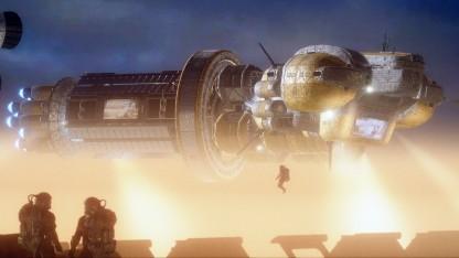 Screenshot aus dem Test Cloud Gate des neuen 3DMark