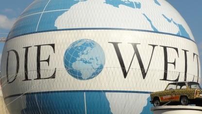Paywall: Die Welt ab Mittwoch kostenpflichtig