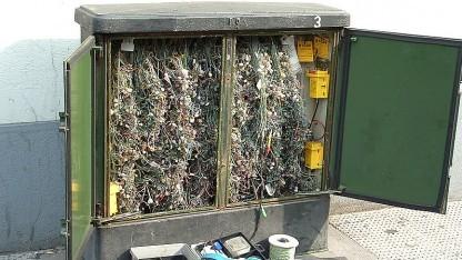 Kabelverzweiger in London