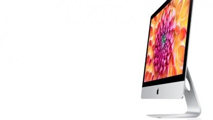 Apples iMac erinnert stark an einen Fernseher.