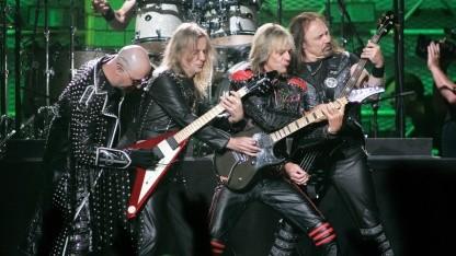 Judas Priest bei einem Auftritt in Las Vegas 2006