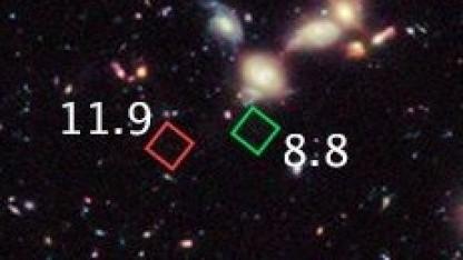 Weltraumteleskop Hubble: Über 13,4 Milliarden Jahre alte Galaxie