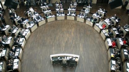 Plenarsaal des Bundesrates: Internetnutzer sollen leichter identifizierbar werden.