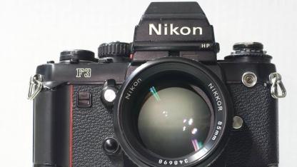 Klassiker Nikon F3, gebaut von 1980 bis 2002