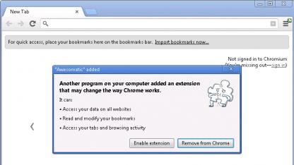 Chrome 25 soll ungefragte Installation von Erweiterungen unterbinden.