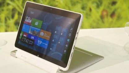 Acers Tablet nimmt mit Intels Atom-Prozessor wenig Leistung auf.