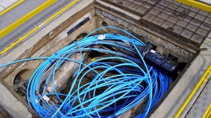 Glasfasernetzwerk von Telstra