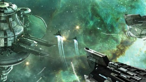 Artwork von Eve Online Retribution