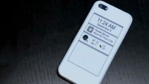 Handyhülle: iPhone mit E-Ink-Display