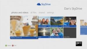 Skydrive auf der Xbox 360