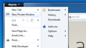 Privater Modus in Firefox künftig für einzelne Fenster