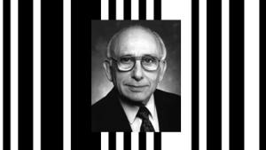 Norman Joseph Woodland entwickelte den Strichcode.