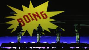 Kraftwerk bei einem Auftritt im Jahr 2009