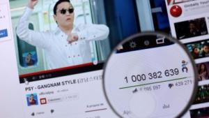 Die Anzahl der Views bei Youtube