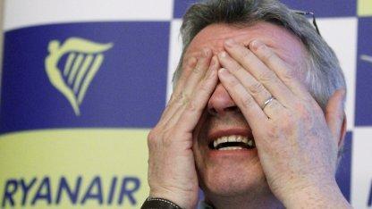 Ryanair-Chef Michael O'Leary im März 2012