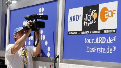 ARD und ZDF auf der Tour de France