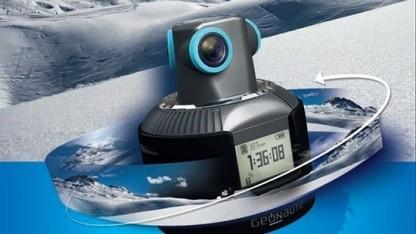 Geonaute-Actionkamera mit 360-Grad-Blick