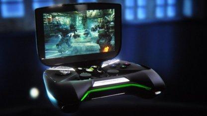 Nvidia stellt ein eigenes Spielehandheld vor.