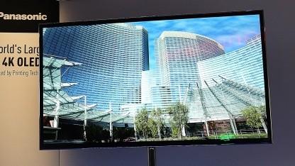 Panasonics 56-Zoll-OLED mit 4K-Auflösung