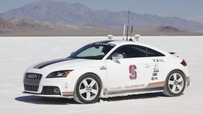 Autonomer Audi TTS: in 27 Minuten auf den Pikes Peak