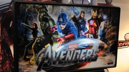 Sterns neuer Heimflipper 'Avengers'