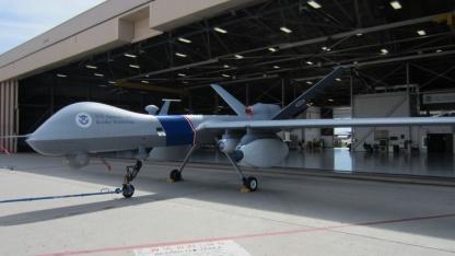 Drohne mit Harvester: Einsatz möglicherweise ab 2014