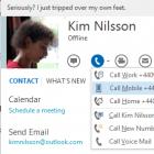 Microsoft: Skype 6.1 für Windows mit Outlook-Integration