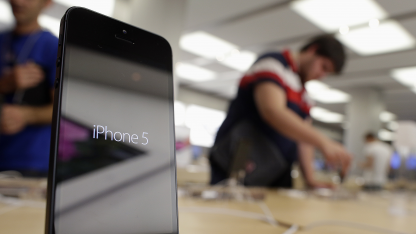 Schwache Nachfrage: Apple halbiert Bestellung für iPhone-5-Displays