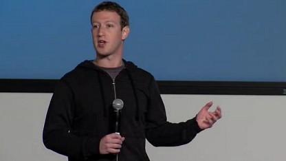 Mark Zuckerberg stellt Graph Search vor.