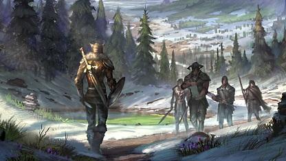 Konzeptzeichnung von The Elder Scrolls Online