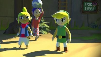 Bild aus Zelda: Wind Waker für die Wii U