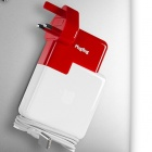 Plugbug World: Reisestecker spendiert Macbook-Netzteilen USB-Ausgang