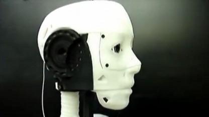 Roboter Inmoov: noch Verständigungsschwierigkeiten