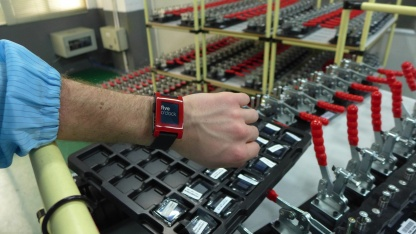 Pebble - die Fertigung der Smartwatch hat begonnen.