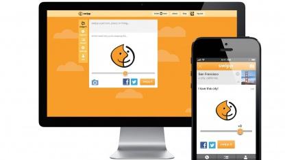 Swipp als Webversion und auf einem mobilen Gerät