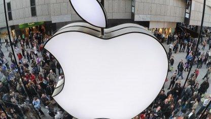 Apples Marktanteil im Handymarkt steigt stark.