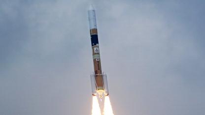Satellitenstart in Japan am 27. Januar 2013 (Symbolbild)
