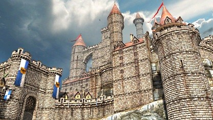 Screenshot Epic Citadel unter iOS