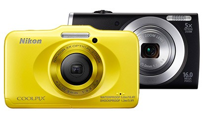 Canon Powershot A2500 und Nikon Coolpix S31