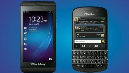 Blackberry Z10 und Blackberry Q10