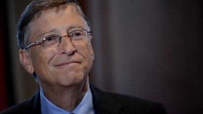 Bill Gates am 30. Januar 2013 in New York