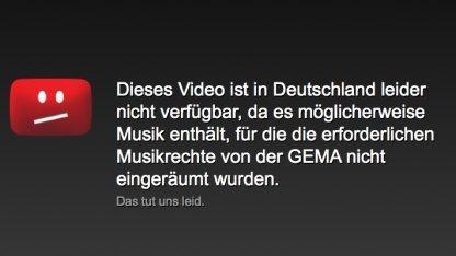 Content ID: Youtube löscht Musik, statt Videos zu sperren