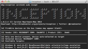 Inception: System-Login auf verschlüsselten Festplatten