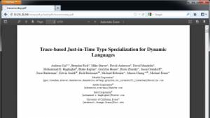 Firefox 19 zeigt PDFs ohne Plugins an.