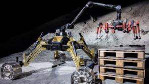 Roboter: Crex kraxelt im Krater