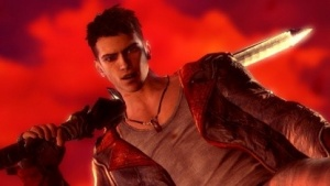 Dante mit seinem Schwert Rebellion