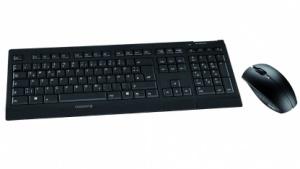 Dieses Tastaturset verschlüsselt die Eingaben auf dem Weg zum Rechner.