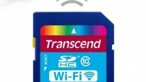 Transcend liefert seine SD-Karten mit WLAN aus.